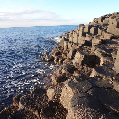 Swirls of Water at The Giant's Causeway