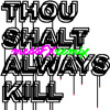 Dan Le Sac vs. Scroobius Pip - Thou Shalt Always Kill [messFX Remix]