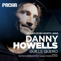 warmup Danny Howells @ Pacha Buenos Aires