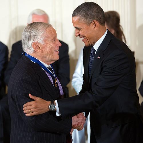 President Obama On Awarding The Medal Of Freedom To Benjamin Bradlee