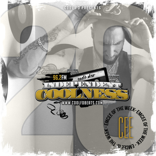 Cee - Emcee Of The Week Feature - Independent Coolness #20, October 18th 2014