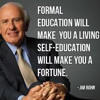 Jim Rohn - Getting Rich Is Easy (Change Your Mindset)