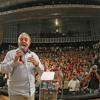 Discurso de Lula no ato com intelectuais e artistas no TUCA