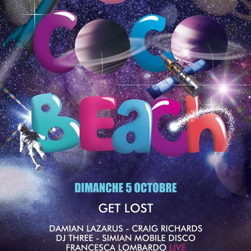 Damian Lazarus at Cocobeach - Get Lost 5th of October 2014 by French