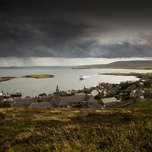 Streets of Stromness October 2014