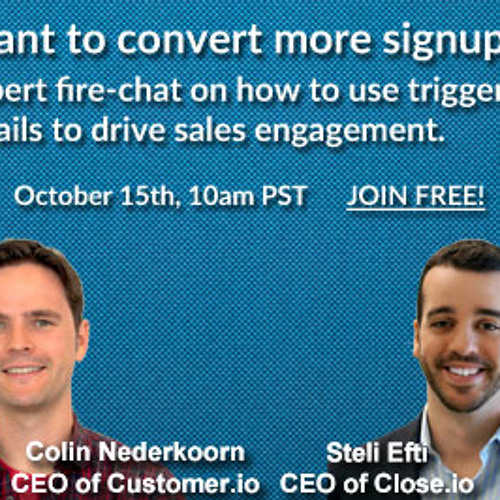 [Webinar recording] Drive sales engagement with triggered emails