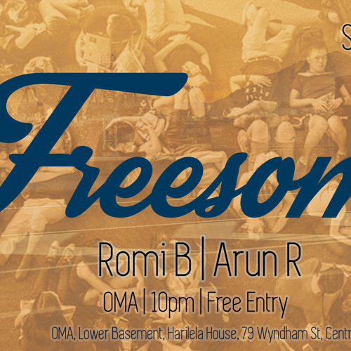 Freesome @ Oma Recording Set Sat 11th October Part1 Arun R