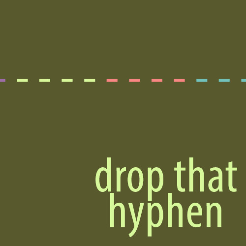 Drop That Hyphen: On Community