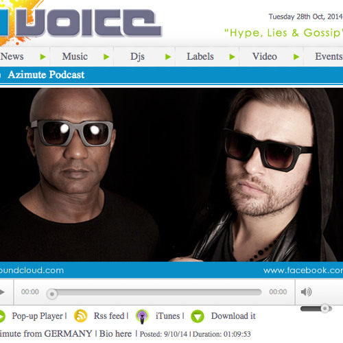 Ibiza Voice Podcast - AZIMUTE 9.10.14