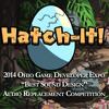"""""""Best Sound Design"""" - Hatch-It! 2014 OGDE Audio Replacement Contest Winner"""