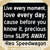 REO Speedwagon 1985 live performing Live Every Moment (concert)
