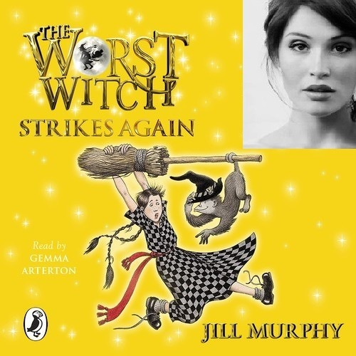Gemma Arterton on reading the Worst Witch audiobooks by