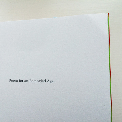 Poem for an Entangled Age