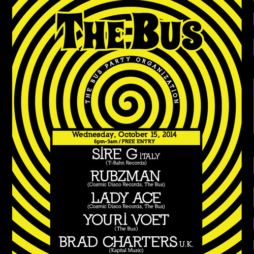 deejay podcast - Lady Ace - ADE 2014 - The Bus - (opening set)