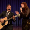 """Florence Welch, Jimmy Fallon & The Roots sing """"Balls In Your Mouth"""""""
