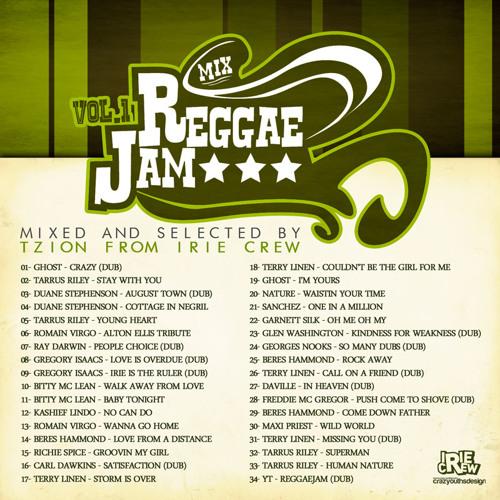 Various Artist Reggae Jam Vol 1 Irie Crew Mixcd By