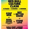 REDBULL CULTURE CLASH UK - ROUND ONE   A$AP MOB vs BOY BETTER KNOW vs REBEL SOUND vs STONE LOVE