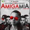 El Roockie Ft. Zion & Lennox, J Quiles Y Alkilados - Amiga Mia (Official Remix) Portada del disco