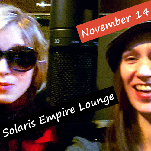 Solaris Empire Lounge Nov. mit YES I'M VERY TIRED NOW und J MOON