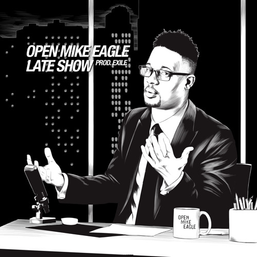 "Open Mike Eagle - ""Dark Comedy Late Show"" (prod. Exile)"