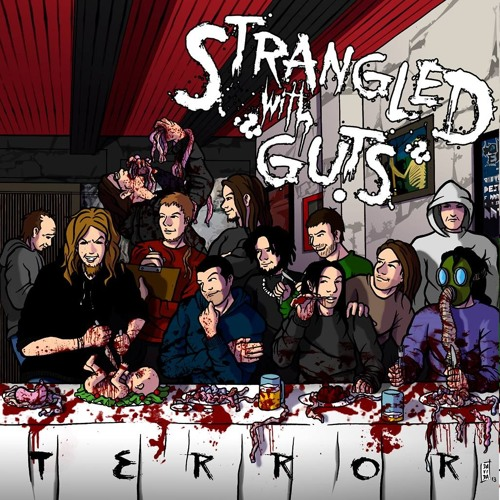 STRANGLED WITH GUTS promo 2014