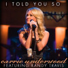 Carrie Underwood I Told You So Cover Mp3