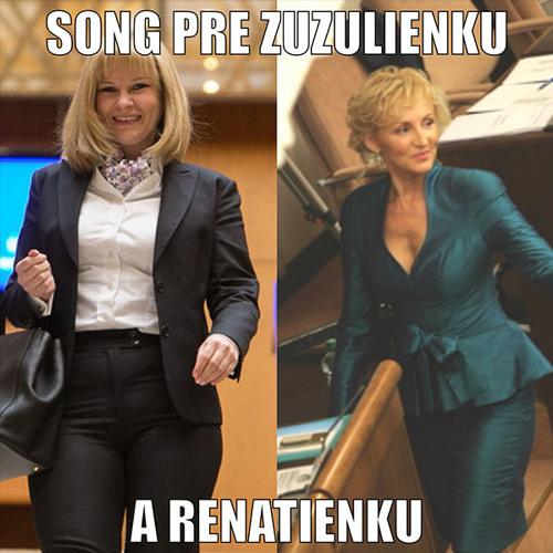Song pre Zuzulienku a Renatienku!