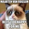 Maarten Van Rossem Als Grumpy Cat