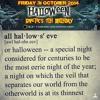 Halloween Live @ The Origin (31:10:14)