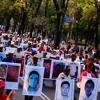Padres  de los Normalistas en el Zócalo. 5 /11/2014
