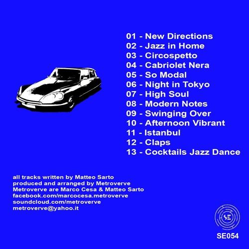 Metroverve - Electronic-Jazz Combinations (Soundexhibitions Records)