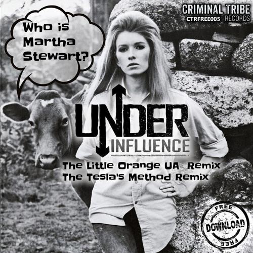 Under Influence - Who is Martha Stewart? (Remixe's Album) [CTRFREE005 07.11.2014]
