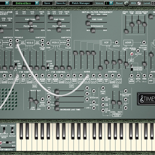 TimewARP Demo 4 - Electro   PsyTrance [WAV 44.1]