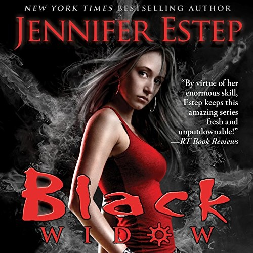 Black Widow: Elemental Assassin, Book 12 by Jennifer Estep, Narrated by Lauren Fortgang
