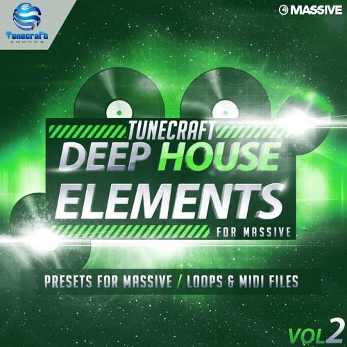 Tunecraft Deep House Elements Vol.2 // 50 Massive presets, loops, midis & more !