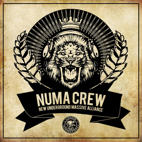 "NUMA CREW - ""NEW UNDERGROUND MASSIVE ALLIANCE"" LP"