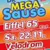 Die 90er MEGA SAUSE Im Velodrom mit Eiffel 65 live am 22.11.2014 im Velodrom