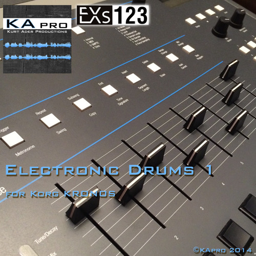 EXs123 Electronic Drums 1