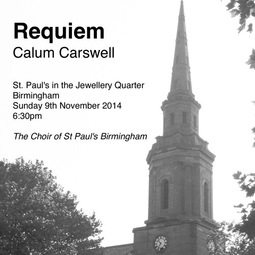 CARSWELL Requiem 2014 MP3 Version
