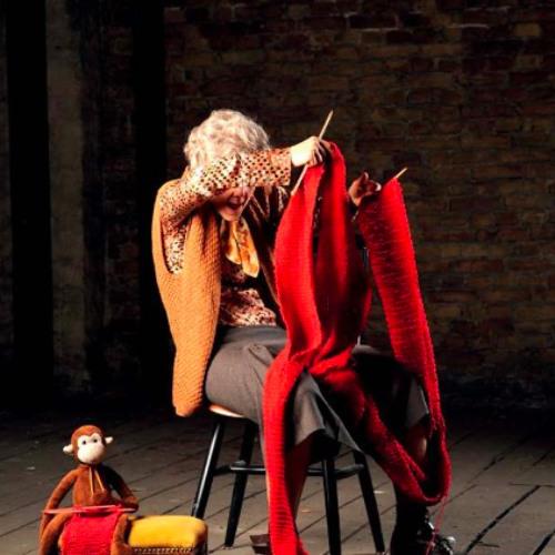 "Pantomimenstück ""Frau Elfriede Peil"" im Theaterpavillon"