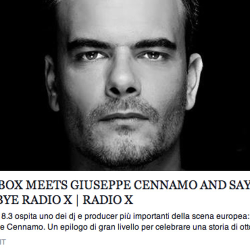Page 1 | Giuseppe Cennamo Radioshow for THE BOX [#FreeDownload]. Topic published by DjMaverix in Free Productions (Music Floor).