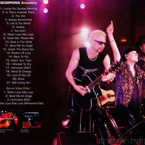 2001 BAIXAR DVD SCORPIONS ACOUSTICA