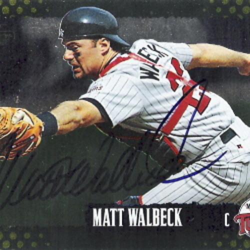 5/30/2013 Matt Walbeck Interview (Passed Ball Show)