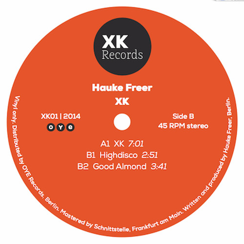 Hauke Freer - XK 01