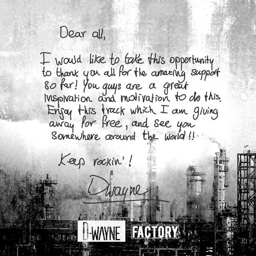 D-wayne - Factory (Original Mix)