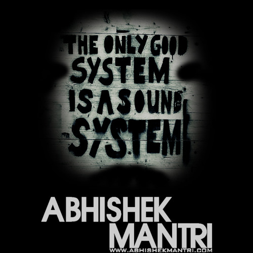 Sound Syztem October 2014 Funky Tech House Sessions Ft Abhishek Mantri N De Frost