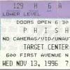 Train Song 1996-11-13 Minneapolis, MN