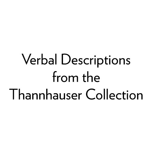 Verbal Descriptions from the Thannhauser Collection