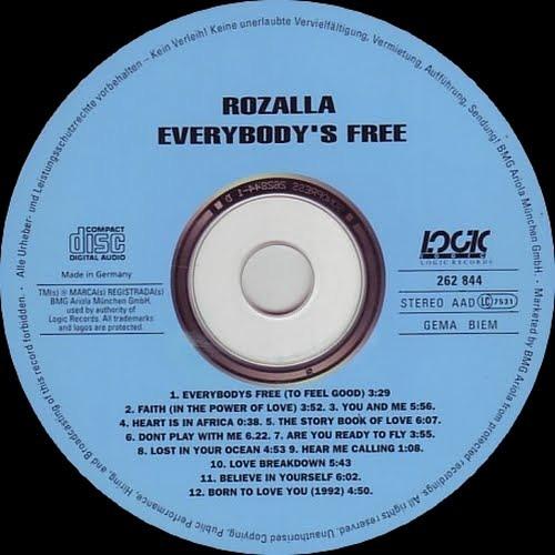 "Rozalla ""Everybody's Free To Feel Good"" - Rundown Remix"