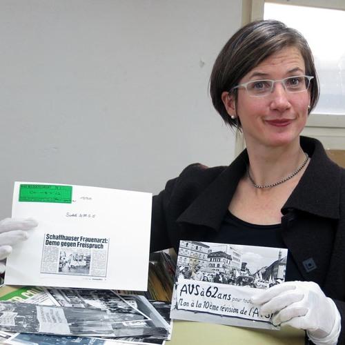 Nora Mathys und das Ringier-Bildarchiv: 7 Millionen Fotos zum Schweizer Alltag